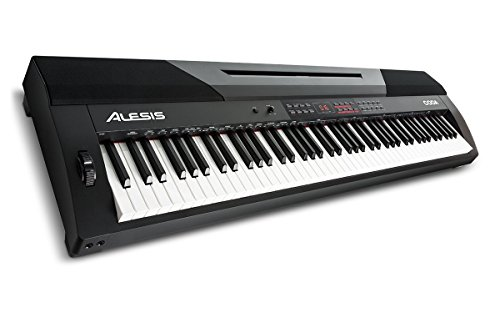 Alesis Coda | 88-Key Digital Piano with Semi-Weighted Keys, Split Keyboard & Voice Layering, and Included Sustain Pedal by Alesis
