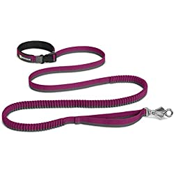 RUFFWEAR NEW 2017 ROAMER LEASH ♦ WAIST WORN OR HAND HELD EXTENDING LEASH ♦ ALL SIZES AND COLORS (7.3 - 11 feet, Purple Dusk)