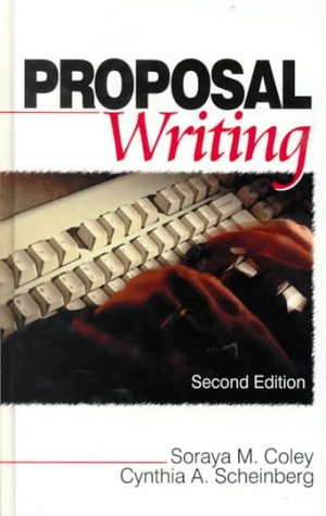 Proposal Writing by Soraya M. Coley (2000-03-21)
