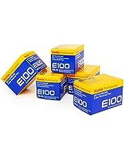 5 Pack of Kodak Professional Ektachrome E100 Color Film (35mm, 36 Exposures)