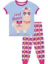 Harry Bear Pijama para niñas Llama Azul 10-11 Años