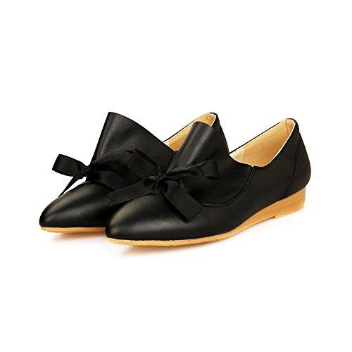 Noir BalaMasa Femme Compensées 5 Sandales APL10373 36 EU Noir rwIqArta