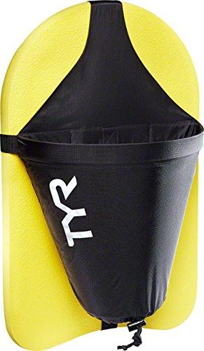 Kickboard Tyr Training (TYR Riptide Kickboard Drag Chute Black)