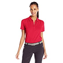 Callaway Women's Golf Short Sleeve Tonal Stripe Polo Shirt