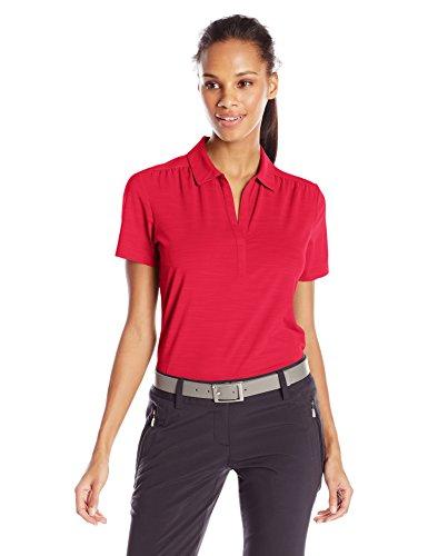 Callaway Womens Short Sleeve Tonal Polo Shirt