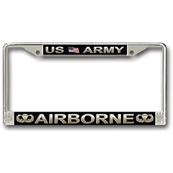 ARMY AIRBORNE License Plate Frame U.S