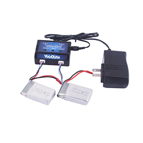 YouCute 1000mAh Battery Charger quadcopter product image