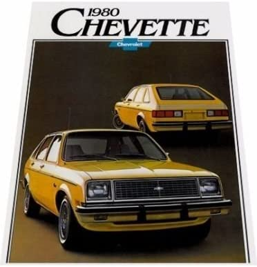 Amazon Com 1980 Chevrolet Chevy Chevette Sales Brochure Catalog Everything Else