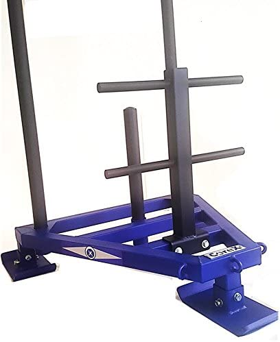 Amazon Com Corex Viper Push Pull Gym Sled With Harness Sports Outdoors