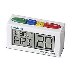 MedCenter Talking Alarm Clock