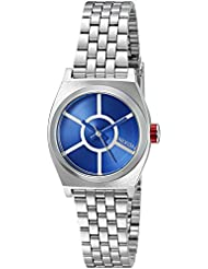 Nixon Womens Small Time Teller SW, R2D2 Blue Quartz Stainless Steel Casual Watch (Model: A399SW-2403-00)