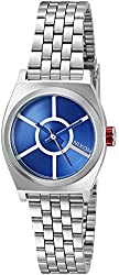 Nixon Women's 'Small Time Teller SW, R2D2 Blue' Quartz Stainless Steel Casual Watch (Model: A399SW-2403-00)