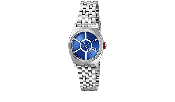Nixon De Las Mujeres pequeño Tiempo Teller SW, R2D2 Azul de ...