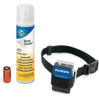 PetSafe Gentle Spray Bark Collar for Dogs, Citronella, Anti-Bark Device, Water Resistant