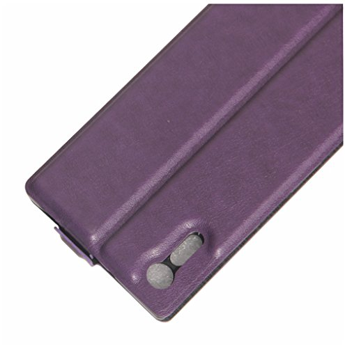 Funda SONY Xpeia XZ,Manyip Caja del teléfono del cuero,Protector de Pantalla de Slim Case Estilo Billetera con Ranuras para Tarjetas, Soporte Plegable, Cierre Magnético F