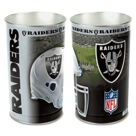 Oakland Raiders Wastebasket (Wastebasket Raiders)