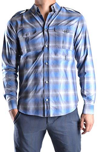 Marc Jacobs Men's Mcbi11690 Blue Cotton - Shirts Marc Jacobs Men