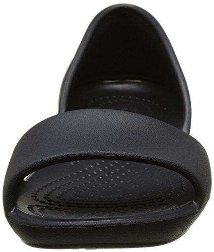 Ballet Black Crocs Black Linadorsayflat Flats Women's Z0REY