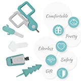 TILLYOU Baby Nail Kit- 5 in 1 Baby Grooming Kit