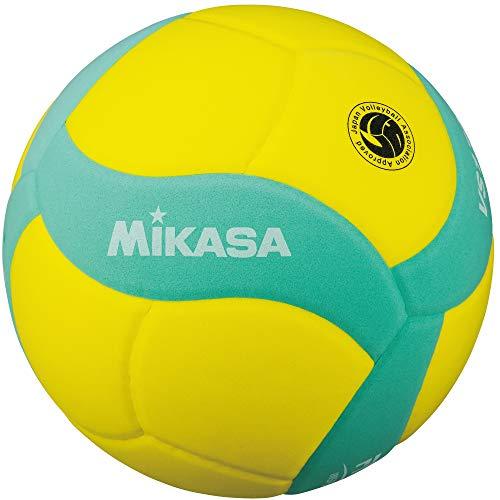미카사 스마일 배구공 5 호 FIVB 공인 노랑 / 녹색 VS170W-Y-G