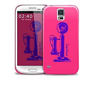 andy warhol pink telephone Samsung Galaxy S5 GS5 protective phone case
