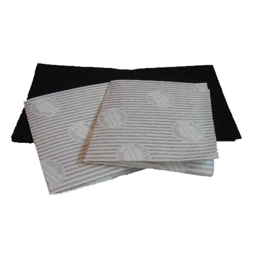 Uft Universal Cooker Hood Filters With 1 Grease Saturation Indicator Filters 1 Charcoal Filter