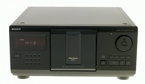 Sony multiple cd player