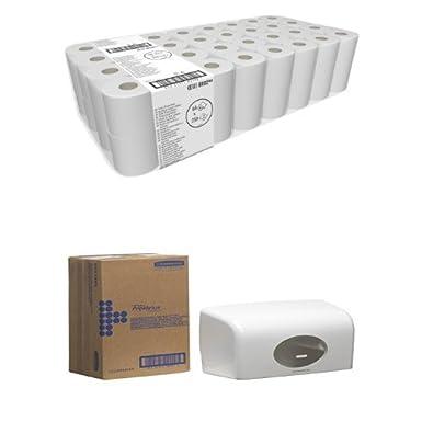 KIMBERLY-CLARK PROFESSIONAL* Toilet Tissue Rolls 8102 - 64 rolls x 250 white, 2 ply sheets Kimberly-Clark Professional (EU)