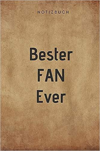 Bester Fan Ever Notizbuch 108 Seiten Dot Grid 6x9 1524 X