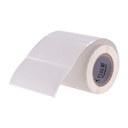 Aibecy 57 * 30 mm 1 rollo de papel térmico autoadhesivo papel de ...