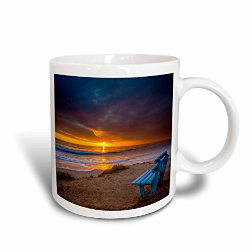3dRose Sunset Over The Pacific Ocean in Carlsbad, Ca Ceramic Mug, 11 oz, - Outlet Carlsbad Ca