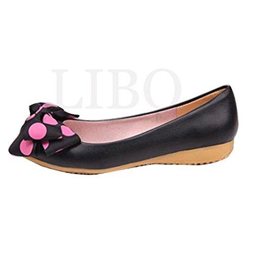 bowknot womens loafers casual slip sweet girls comfortable on shoes wedge flats Beige ballet Gaorui heel n0UwqdTxSd