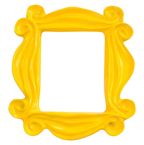 Friends TV Show Merchandise Picture Frame Prop -  Realistic Friends TV Show constructed from Premium and Vibrant Resin Material - Perfect for all Friends Fans (Yellow Picture Frame From Friends)