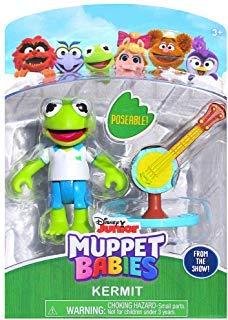Muppets Mini - Kermit Muppet Babies Poseable Action Figure 2.5