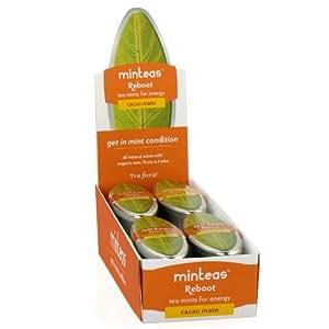 Minteas - Reboot - Tea Mints for Energy - Cocoa Mate - by Tea Forte