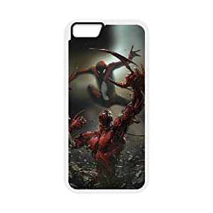 Pictures Of Spiderman iPhone 6 Plus 5.5 Inch Cell Phone Case White xlb-209661