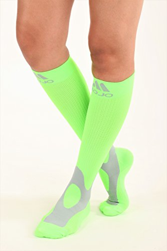 Mojo Compression Socks 20-30 made with Coolmax and soft easy to get on materials. Medical Graduated Support Socks for men and woman Compression Stockings with Cushioned foot and heel
