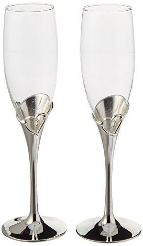Unik Occasions Wedding Toasting Flutes/Champagne Glasses