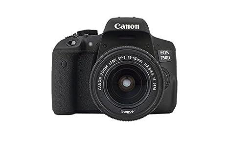 Canon EOS 750D - Cámara réflex Digital de 24,2 MP (Pantalla LCD de ...