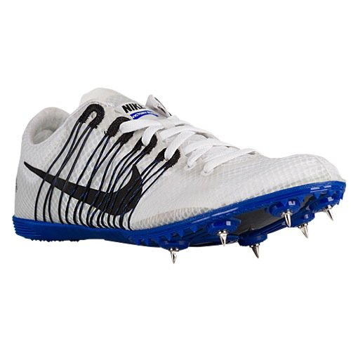 Nike Zoom Victory Elite Distance Track Spikes Shoes White Blue Black Mens Size 12.5 (Zoom Victory Nike)