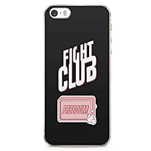 Loud Universe Freedom Fight Club Class Movie iPhone 5 / 5s Case with Transparent Edges
