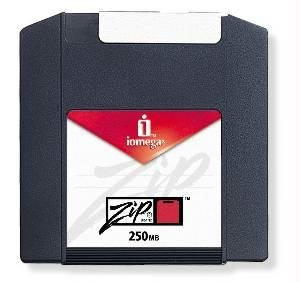 Iomega Zip 250MB Cartridge (PC Formatted, 2-Pack) (Discontinued by Manufacturer)