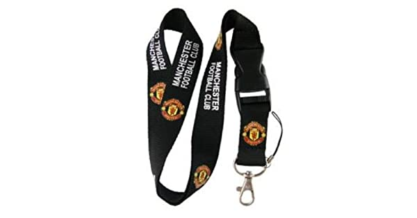 Amazon.com: Manchester United FC – Lanyard Llavero titular ...