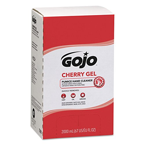 Gojo 729004 Cherry Gel Pumice Hand Cleaner, 2000 Millimeter - Stores Texas Outlet City