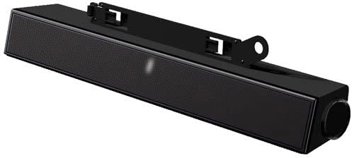 Dell AX510 Sound Bar - PC Multimedia Speakers - 10 Watt (Total) - Black