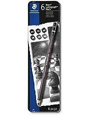 Staedtler Drawing or Sketch Pencils Wood (100B G6)