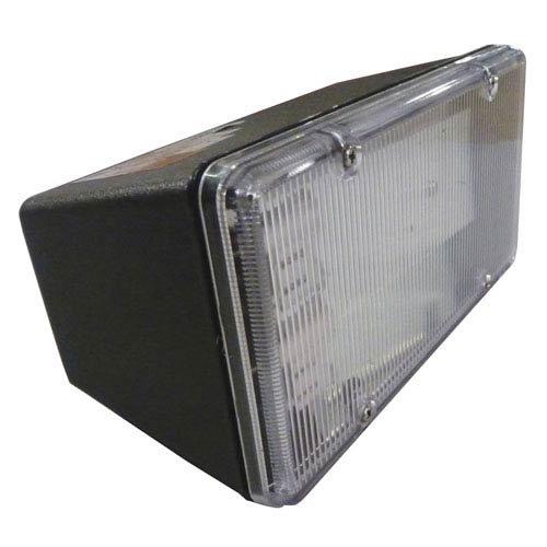 AFX Lighting TPDW213BKPLT Clear Lexan Lens Outdoor Fluorescent Flood Light Fixture, Black Fluorescent Floodlight Fixture
