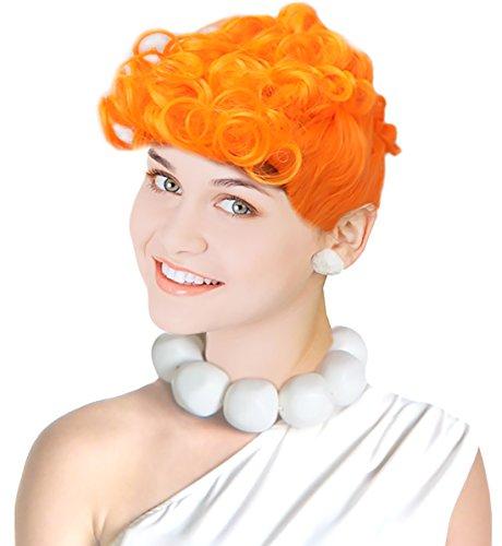 Wilma Wig Flintstone Wig Costume Wilma Flintstones Wig In Lucy Cartoon (Wilma Flintstone Wig)