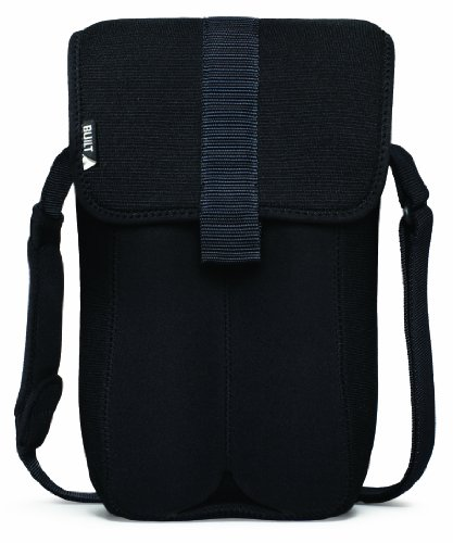 BUILT Neoprene 2 Bottle Tote Black