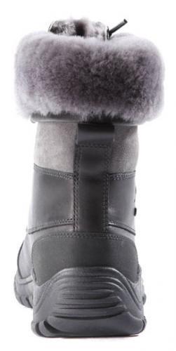 UGG Women's Adirondack II Winter Boot, Black/Grey, 6 B US by UGG (Image #3)